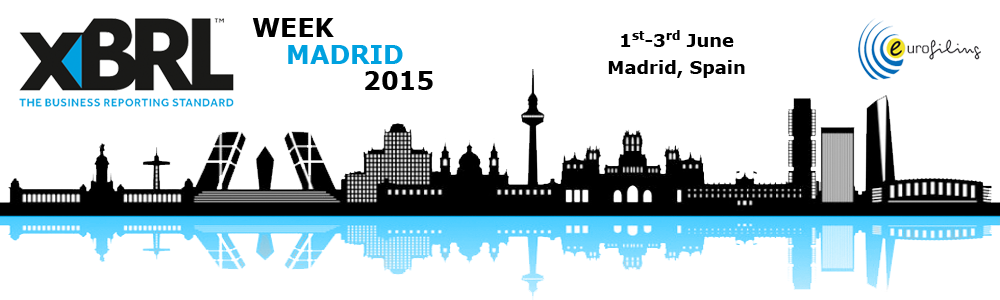 XBRL week in Madrid, June 2015