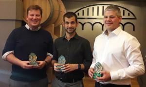 Awards2017: Thomas Verdin, Aitor Azcoaga and Owen Jones