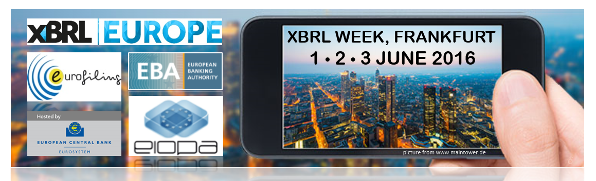 XBRL WEEK IN FRANKFURT